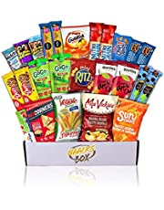 School Safe Nacks Box Healthy Snacks Care Package   for School, Kids, Parties (20 Count)