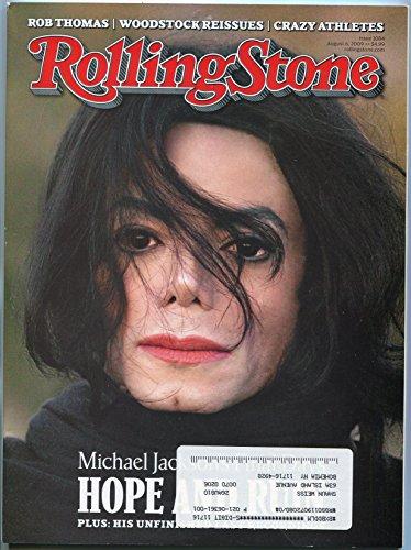 Rolling Stone Magazine August 2009- Michael Jackson- Kid Rock- Sam Brown