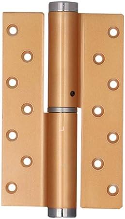 HUANGDA Bisagra Hogar Puerta de Madera con bisagras Puerta Interior Ajustable de Cierre automático Muebles de Madera Cojinete de Bolas Níquel Bisagras (Color : A-L, tamaño : 2PCS): Amazon.es: Hogar