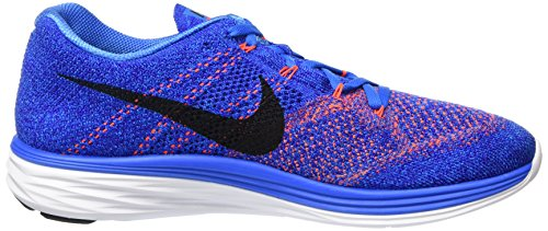 Nike Hommes Flyknit Lunar3 Course / Formation Chaussures