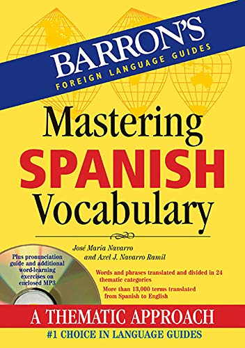 Mastering Spanish Vocabulary with Audio MP3 (Barron