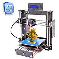Perfect-Office 3D Printer DIY i3 MK8 High Precision Self-Assembling Nozzle Desktop DIY 3D Printers with 1.75mm ABS/PLA Filament, Print Size (200 200 180mm) from Perfect-Office