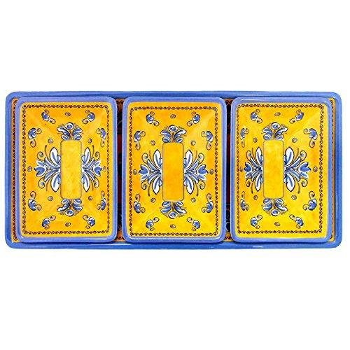 Le Cadeaux 4 Piece Benidorm Dip or Appetizer Set, - Appetizer 4 Piece