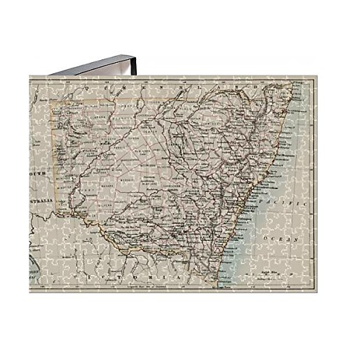 Media Storehouse 252 Piece Puzzle of New South Wales map, 1800s (5882613)