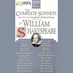 The Complete Sonnets of William Shakespeare Audiobook