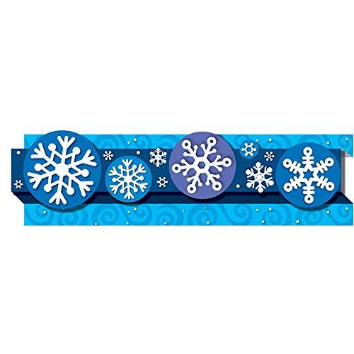 - Carson Dellosa Snowflakes Borders (108042)