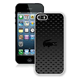 iPhone 5 5S Case,Excellent protection Lacoste 13 White For iPhone 5 5S Case