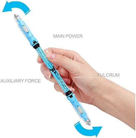 DWSS Cool Spinning Pen Rotating Gaming Bolígrafo Antideslizante ...