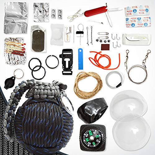 eebc20ff7f43 Holtzman's Survival Kit Paracord Grenade The #1 Best 48 Tool ...