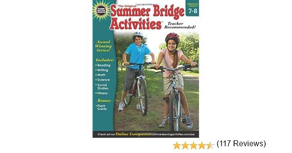 Summer Bridge Activities®, Grades 7 - 8: Summer Bridge Activities ...