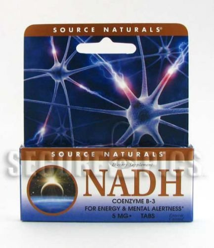 NADH, 5 mg, 90 Tabs by Source Naturals (Pack of 2) by Source Naturals