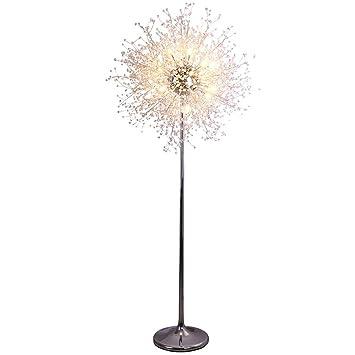 Dandelion crystal floor lamp personality creative living ...