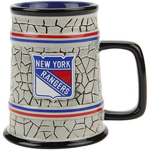 Mug Rangers Coffee (NHL New York Rangers Stone Stein, One Size, Multicolor)