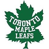 """Toronto Maple Leafs NHL Hockey Car Bumper Sticker Decal 4"""" x 5"""""""