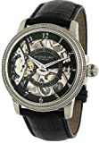 Stuhrling Original Men's 228.33151 Symphony Saturnalia Brumalia Mechanical Skeleton Stainless steel Watch