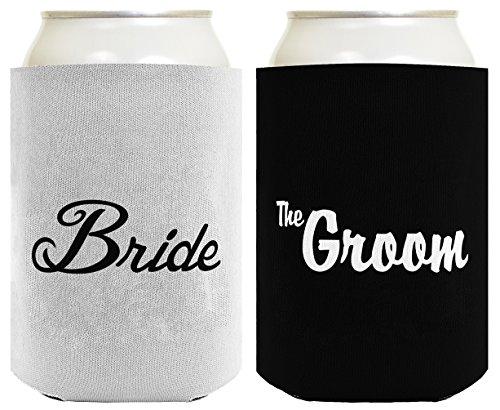 Bride Groom Wedding Coolies Coolers
