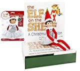 Elf on the Shelf Holiday Gift Bundle: Girl Scout Elf (Blue Eyes) With Christmas Tradition Storybook and Collector's Edition Dazzling Dress (Silver)