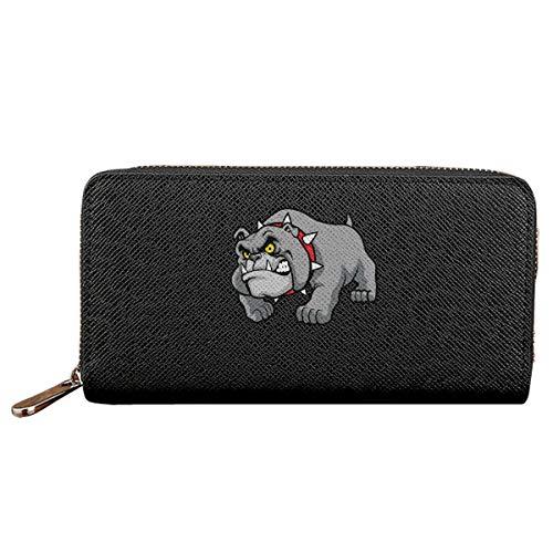 Georgia Bulldogs Women Wallet Pu Leather Clutch Zipper Long Holder ()