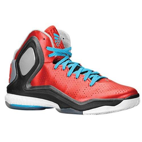 3d919bec95d Men s Adidas Derrick Rose 5 Boost Basketball Shoes Scarlet Solar Blue Core  Black C75593 (12.5) - Buy Online in UAE.