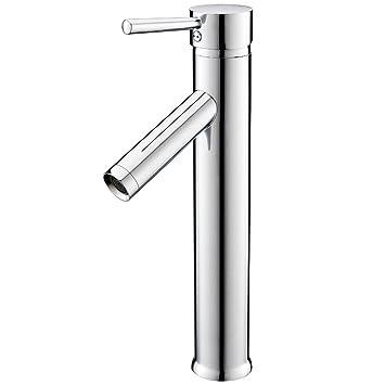 Favorit KINSE® Hohe Einhebel Waschtischarmatur Badarmatur Wasserhahn KV83