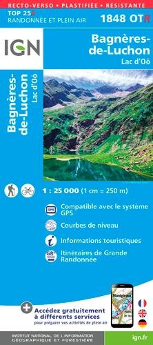 BAGNERE DE LUCHON Carte – Carte pliée, 20 avril 2017 Collectif IGN 2758540444 Gazetteers & Maps)