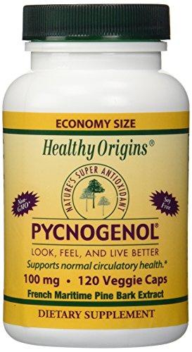 PYCNOGENOL 100 Mg Vegetable Caps 120 Vcaps