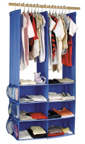 Exceptionnel Kolcraft Baby Closet Organizer   Blue (Discontinued By Manufacturer)