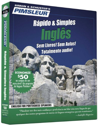 Pimsleur English for Portuguese (Brazilian) Speakers Quick & Simple Course - Level 1 Lessons 1-8 CD: Learn to Speak and Understand English for ... Language Programs (Portuguese Edition) by Brand: Pimsleur