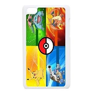 JenneySt Phone CasePokemon Pikachu partern FOR IPod Touch 4th -CASE-14