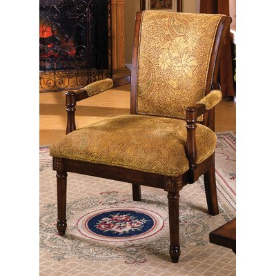 Stockton Upholstered Accent Chair in Brown (Stockton Accent)