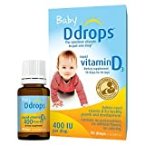 #9: Ddrops Baby 400 IU, Vitamin D, 90 Drops (3 Pack)