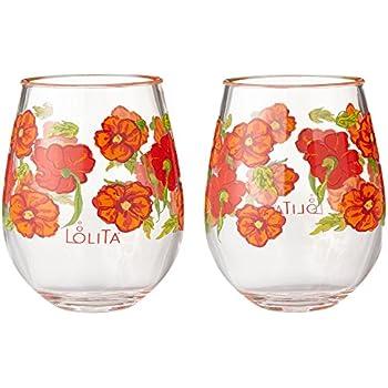 de72cef9432 Amazon.com | Enesco Designs by Lolita Oops a Daisy Acrylic Stemless ...