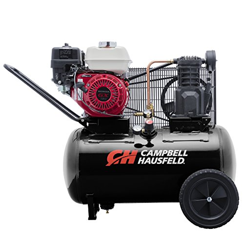 Campbell Hausfeld Air Compressor, 20 gallon Horizontal Portable Single-Stage 10.2CFM GX160 Honda (VT6171X)