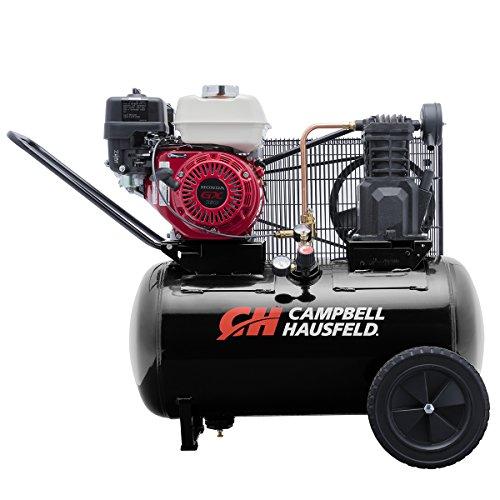 Campbell Hausfeld Air Compressor,20 gallonHorizontal PortableSingle-Stage 10.2CFM GX160 Honda (VT6171X)