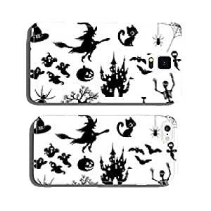 Halloween, Icon, icon, set, collection, vector, black cell phone cover case iPhone6 Plus