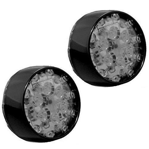 クリアキン Kuryakyn LEDウインカーインサート ブレットタイプ リア 赤/黒/スモークレンズ 419517 5460 B01NAANGDZ
