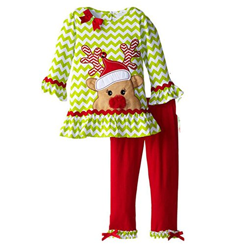 ZSY FOR U Christmas Santa Red Long Sleeve And Stripe Pant Corduroy Costume Suit For 1-6T (2T) - Corduroy Suit Costume