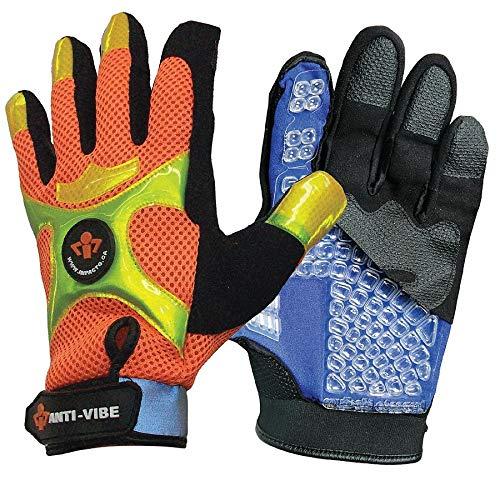 Impacto BGHIVISM - Anti-Vibration Gloves M Black/ Orange PR