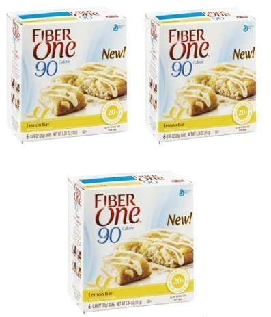 fiber one lemon bars - 2