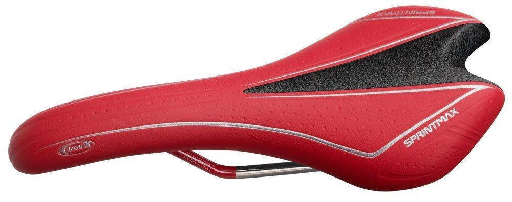 RavX Sprintmax Performance Saddle (Red) [並行輸入品] B075K3Y6F6