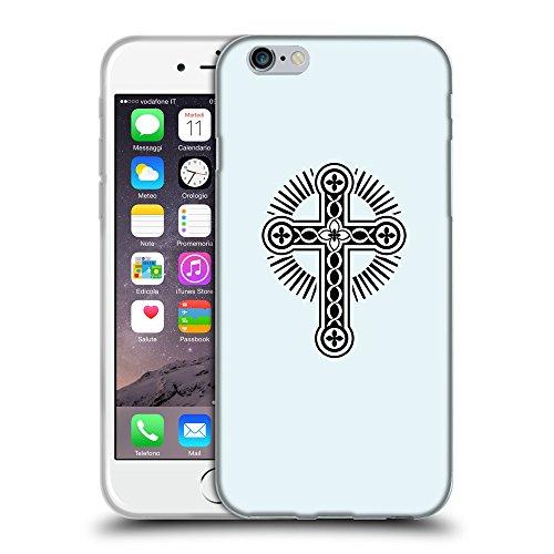 "GoGoMobile Coque de Protection TPU Silicone Case pour // Q07920619 Christian Cross 17 Bulles // Apple iPhone 6 PLUS 5.5"""