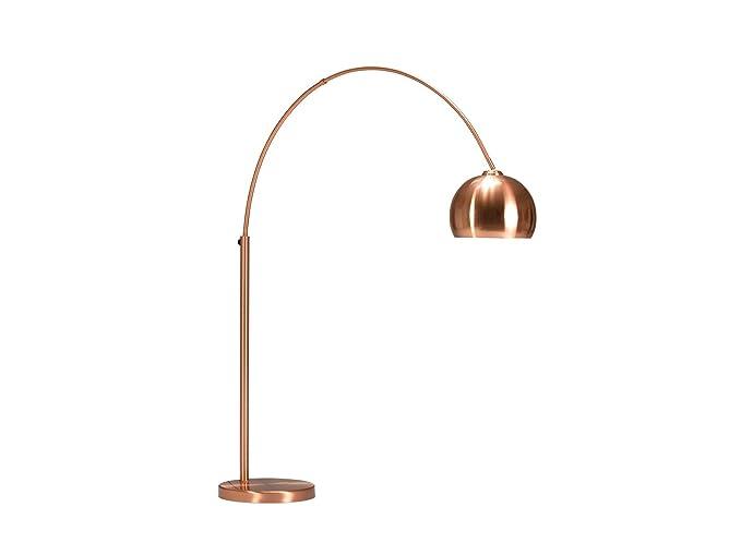 Invicta interior design lampada ad arco lounge deal rame base in