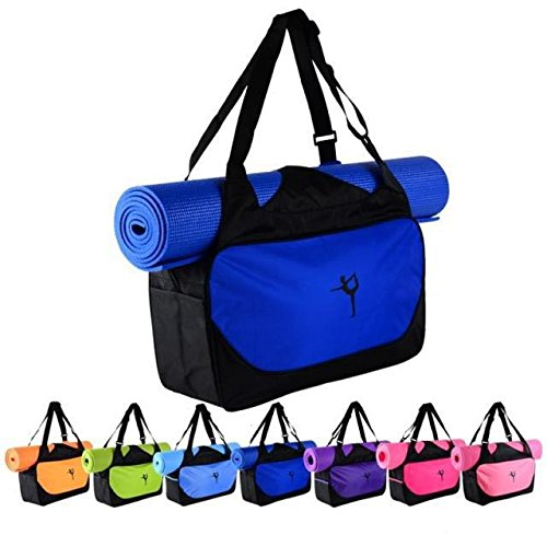 Yoga Mat Bag Tote Waterproof Fitness Martial Arts Gym Bag Travel Luggage without Mat