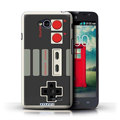 Kobalt® Imprimé Etui / Coque pour LG L70/D320 / Nintendo conception / Série Console (jeux vidéo)