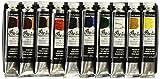 Best Oil Paint Sets - Grumbacher Pre-tested Oil Paint, 24ml/0.81 oz Tube, 10-Color Review