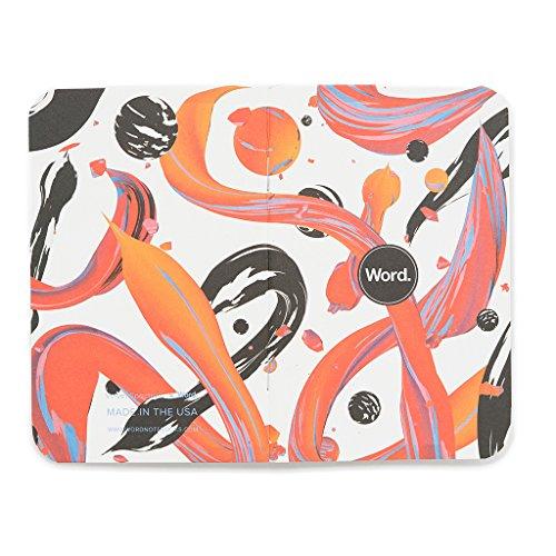 Word. Notebooks Artist - Velvet Spectrum (3-pack) Photo #6