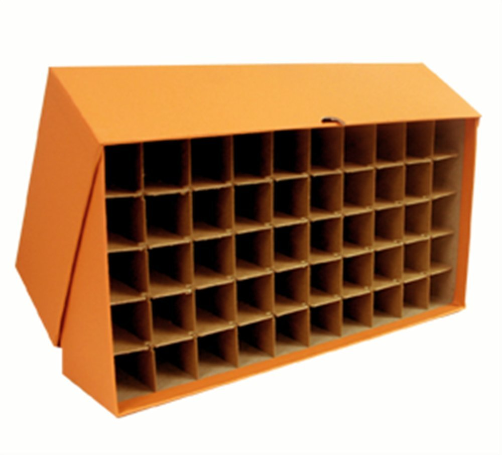 Large storage box for Quarters in bank rolls or coin tubes Guardhouse 828