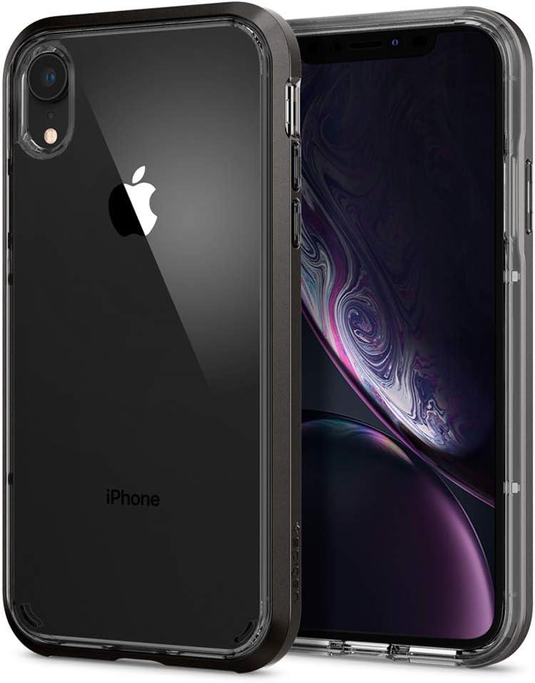 Spigen Neo Hybrid Crystal Designed for Apple iPhone XR Case (2018) - Gunmetal