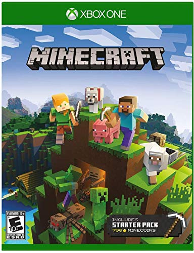 Amazon Com Minecraft Starter Collection Xbox One Microsoft