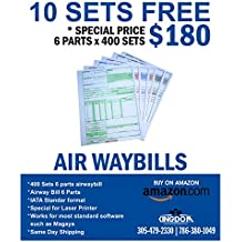 Air Waybills 6 Parts One Box x 400 Sets